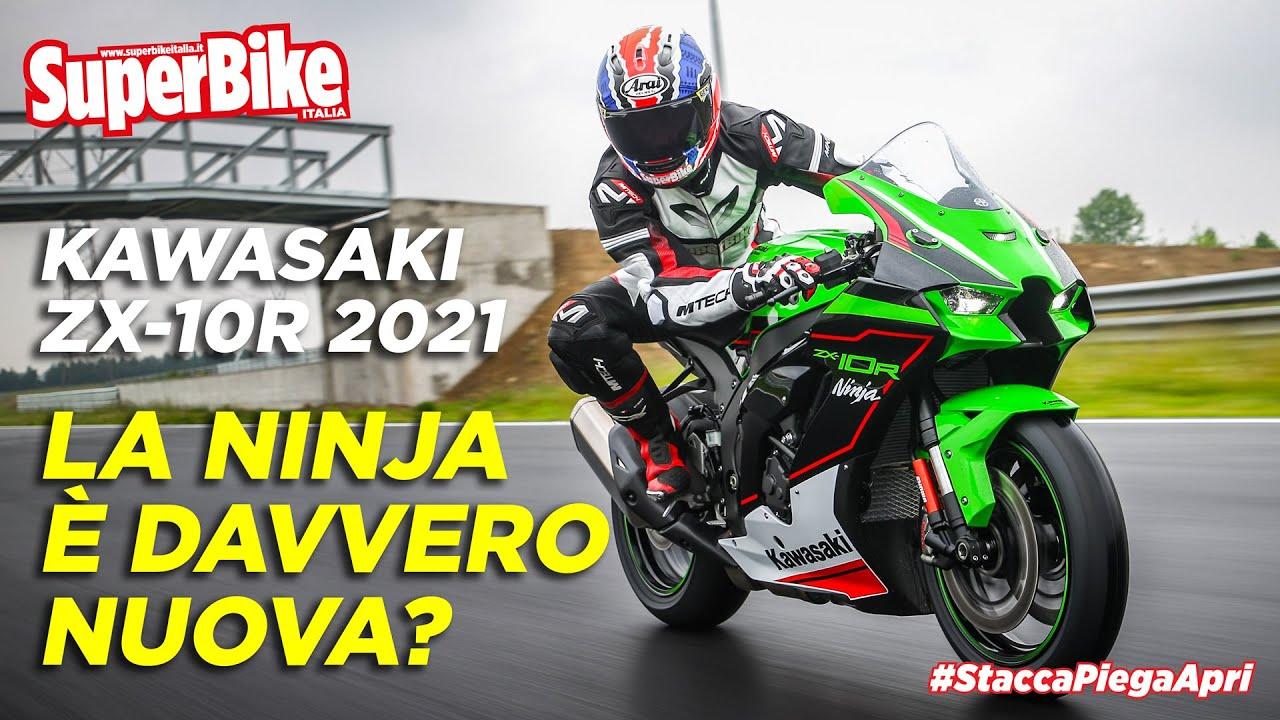 Prova Kawasaki ZX-10R Ninja 2021: squadra vincente non si cambia?