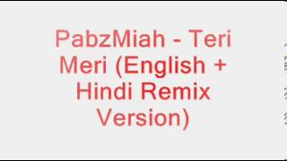 Watch Pabzmiah Teri Meri video
