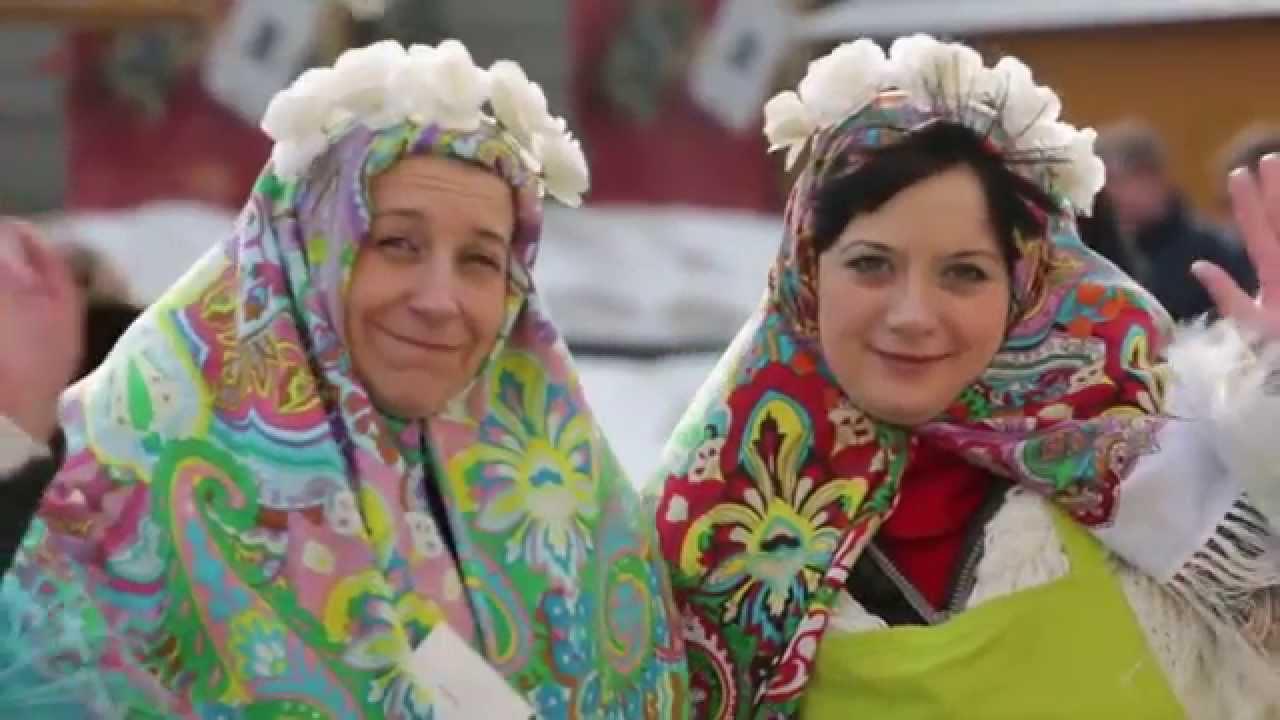 Русская Масленица 2018