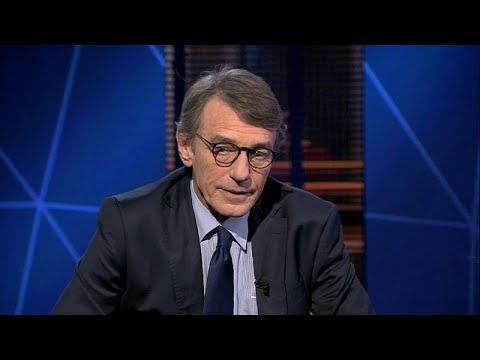 """David Sassoli diz que NATO """"ainda é necessária"""""""