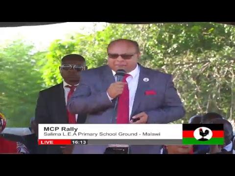 MCP Rally | Salima L.E.A Primary School Ground - Malawi