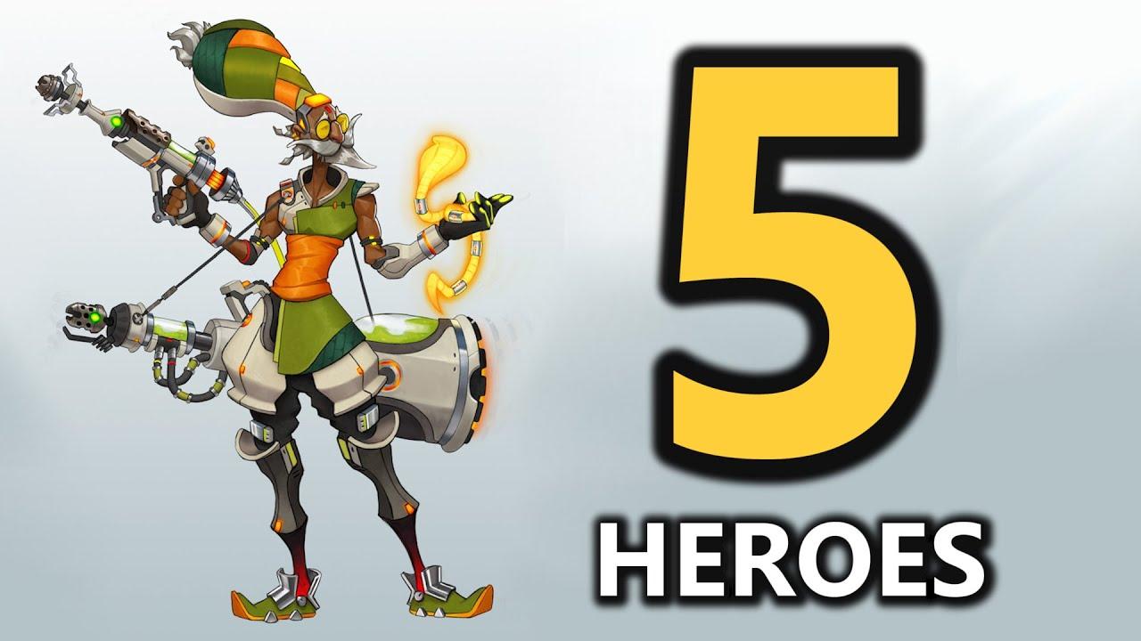Download Top 5 New Hero Concepts (Overwatch)