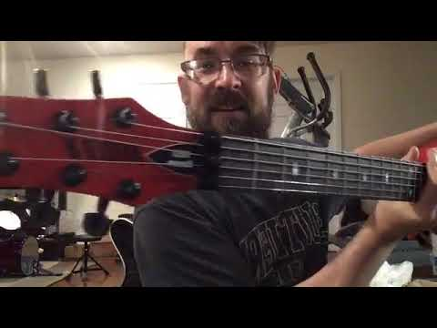Unboxing the new Killer B Guitars Red Baron!