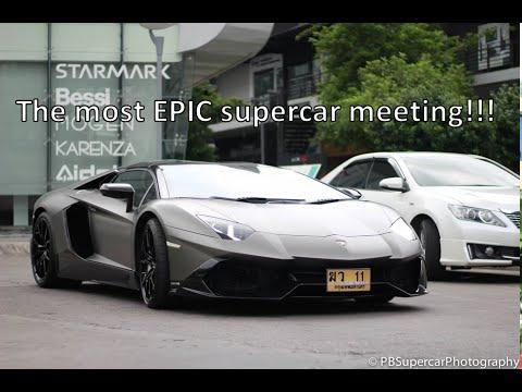 Epic Sunday supercar meeting at CDC | Bangkok, Thailand