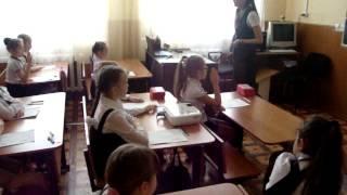 Открытый урок по математике, 2 класс