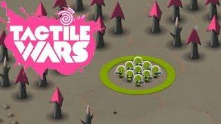 Война цветов Tactile Wars #2 Тактильные войны Стратегия Андроид и IOS \ Маленькие человечки