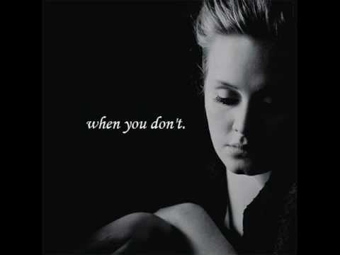 Adele - I Can't Make You Love Me:歌詞+中文翻譯 - 音樂庫