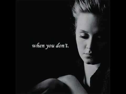 i cant make you love me - adele (w/ lyrics)