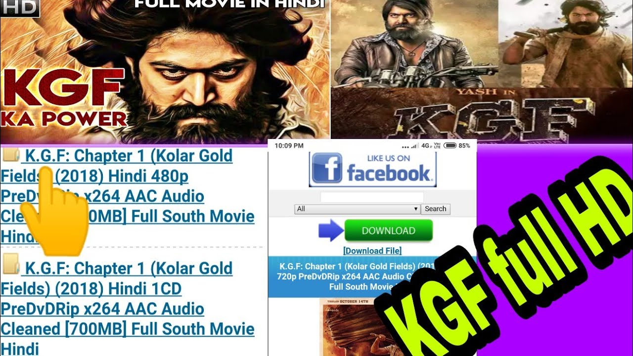 How to download KGF Full Movie in Hindi   Kgf Full Movie