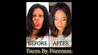 Vlog 1, A reunion and makeover   Faces By Pureness