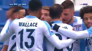 Sassuolo-Lazio 0-3 - All Goals and Highlights HD - 25/02/2018