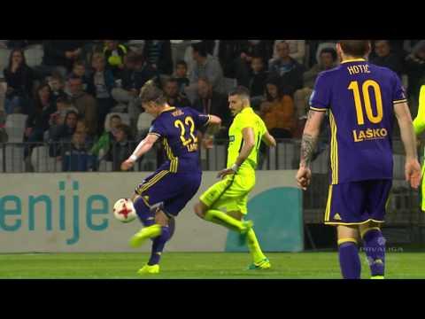 28. krog: Koper - Maribor 2:2 ; Prva liga Telekom Slovenije 2016/17