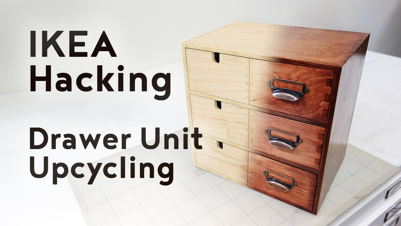 Ikea Hacking Upcycling A Drawer Unit