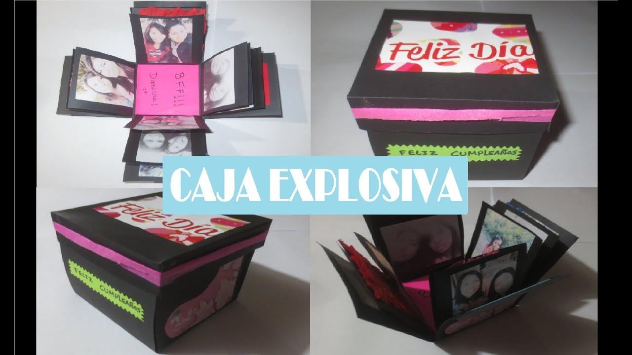 Como hacer un regalo caja explosiva album de fotos regalo para tu mejor amiga youtube - Que regalar a una amiga que se casa ...