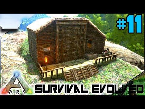 Büyük  Dinozor Ahırı Yapıyoruz  - Ark Survival Evolved Türkçe 11#