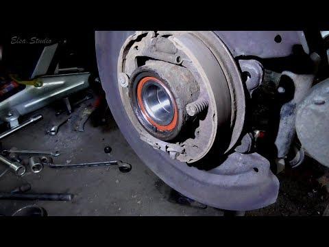Замена подшипника задней ступицы Opel Omega B