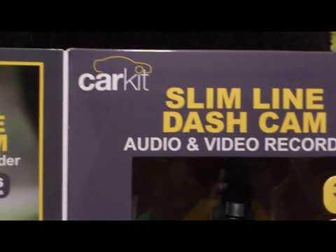 Car Kit Slim Line Dash Cam Part 1