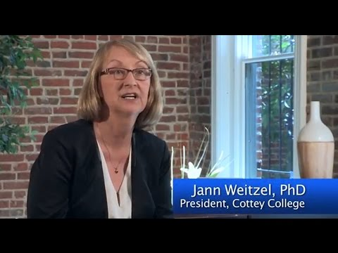 Dr  Jann Weitzel on Cottey College