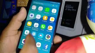 Change Text message notification sound on Samsung Galaxy J7 Sky Pro Modelo SM-S737TL
