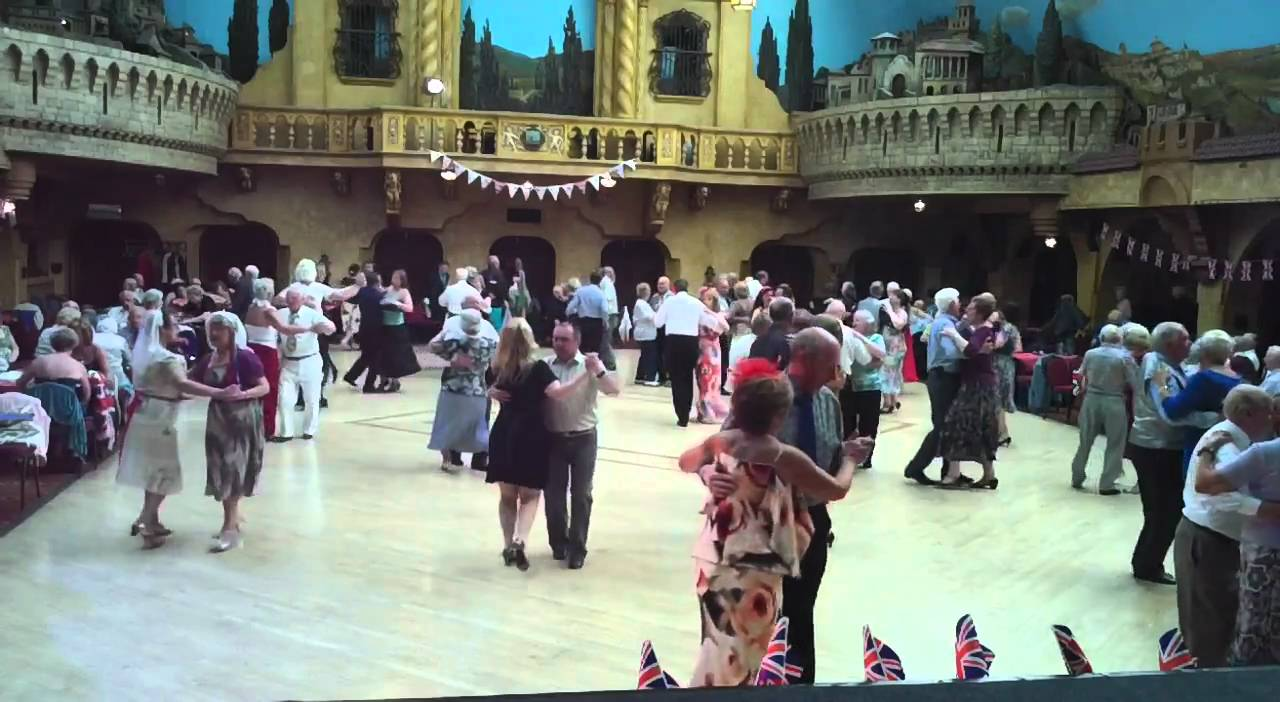 royal wedding tea dance blackpool winter gardens youtube