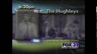 The Hughleys & The Andy Griffith Show | Promo | 2003 | WFXL Fox 31 Albany Georgia thumbnail