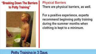 Potty Training Video - How To Potty Train Boys