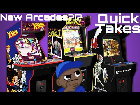 They Announced WHAT?!? Another Cab Leaked?!? Quick Takes: CES 2021 Arcade1up from MikeOfAllTrades