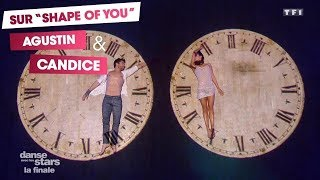 DALS S08 - Sur une danse libre, Agustin Galiana et Candice Pascal (Shape of my Heart - Sting)