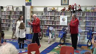 Stoughton Public Library Read and Ride Raffle (Summer 2018)