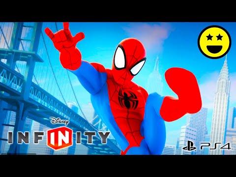 SPIDERMAN Uomo Ragno - Giochi di Cartoni Animati in Italiano per Bambini - Disney Infinity 2.0