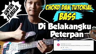 Download Chord + Bass cover Di Belakangku - Peterpan (Untuk Pemula)