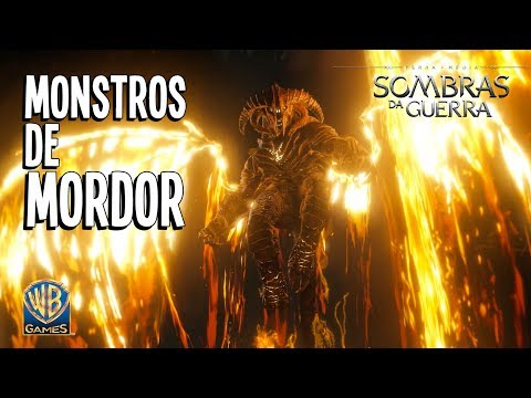 Terra-média: Sombras da Guerra – Trailer Monstros de Mordor