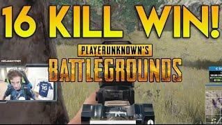 16 Kill Win! (PLAYERUNKNOWN'S BATTLEGROUNDS)