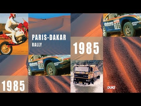 The Paris-Dakar Rally 1985 | Desert RALLY RAID Action