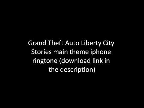 Grand Theft Auto Liberty City Stories main theme Iphone ringtone (download link in descp)