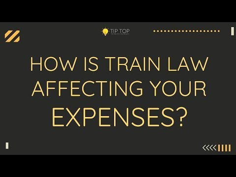 Ep02 WHAT IS TRAIN LAW - Excise tax