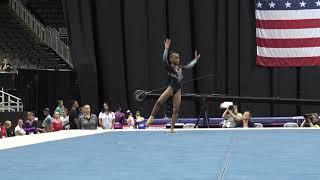 Zoe Miller – Floor Exercise – 2019 U.S. Gymnastics Championships – Junior Women Day 2