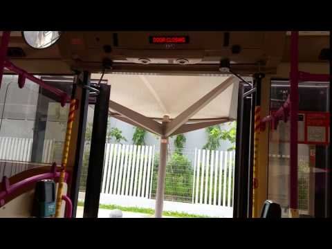 SBS Transit Scania K230UB Doors closing