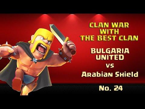 COC Clan War 3 X 3 Stars - Arabian Shield