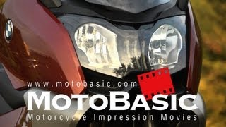 C650GT (BMW/2012) バイク試乗インプレ・レビュー BMW Maxiscooter C 650 GT Review