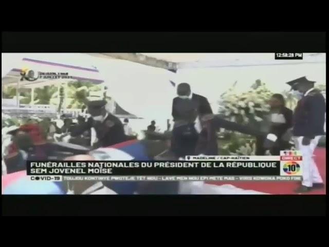 Funérailles nationales du président de la république d'Haiti Jovenel Moïse (1968-2021)