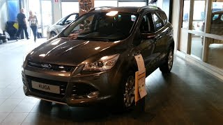 Ford Kuga 2014 In depth review Interior Exterior(Hello and welcome to Alaatin61! YouTube's collection of automotive variety! In today's video, we'll take an up close and in depth look at the 2014 Ford Kuga., 2013-10-25T00:58:00.000Z)