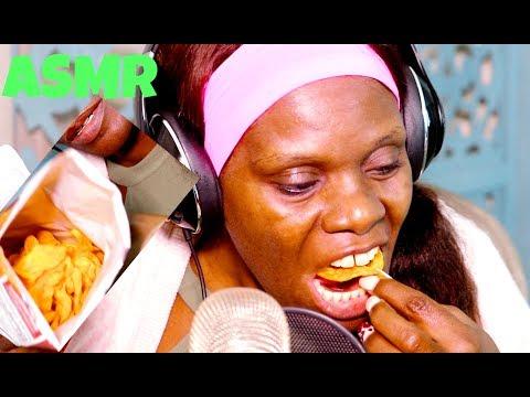 Chips ASMR Eating Sounds Soft Spoken |  Dip | Lays | 💖 Crinkle