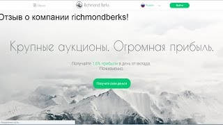 Отзыв о компании richmondberks