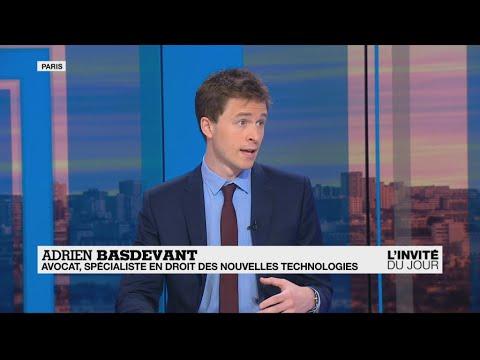 """Adrien Basdevant, spécialiste en droit des nouvelles technologies : """"Nos données valent de l'or"""""""