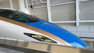 E7系 北陸新幹線 特急 はくたか 飯山駅〜上越妙高駅