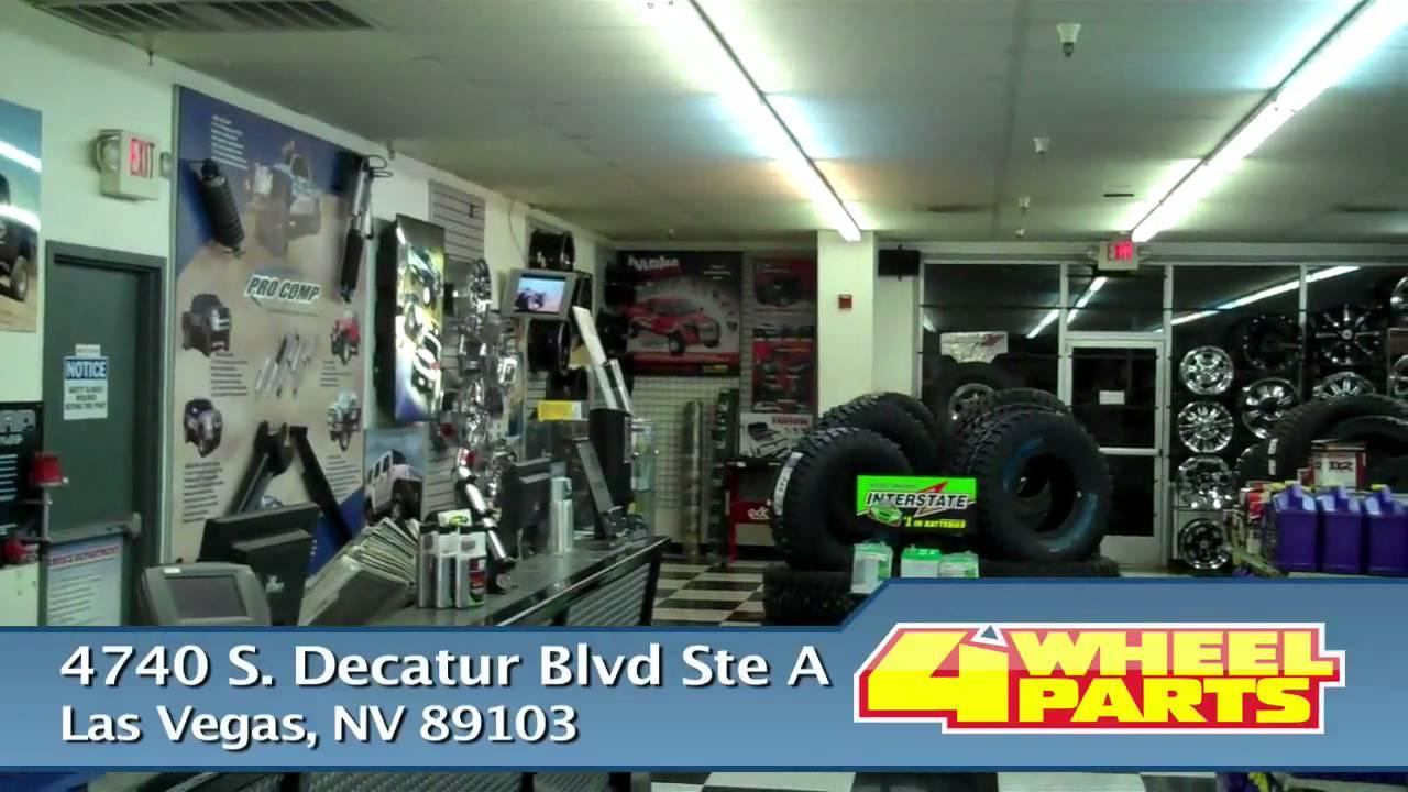 4 Wheel Parts Las Vegas Nevada Store Bio Youtube
