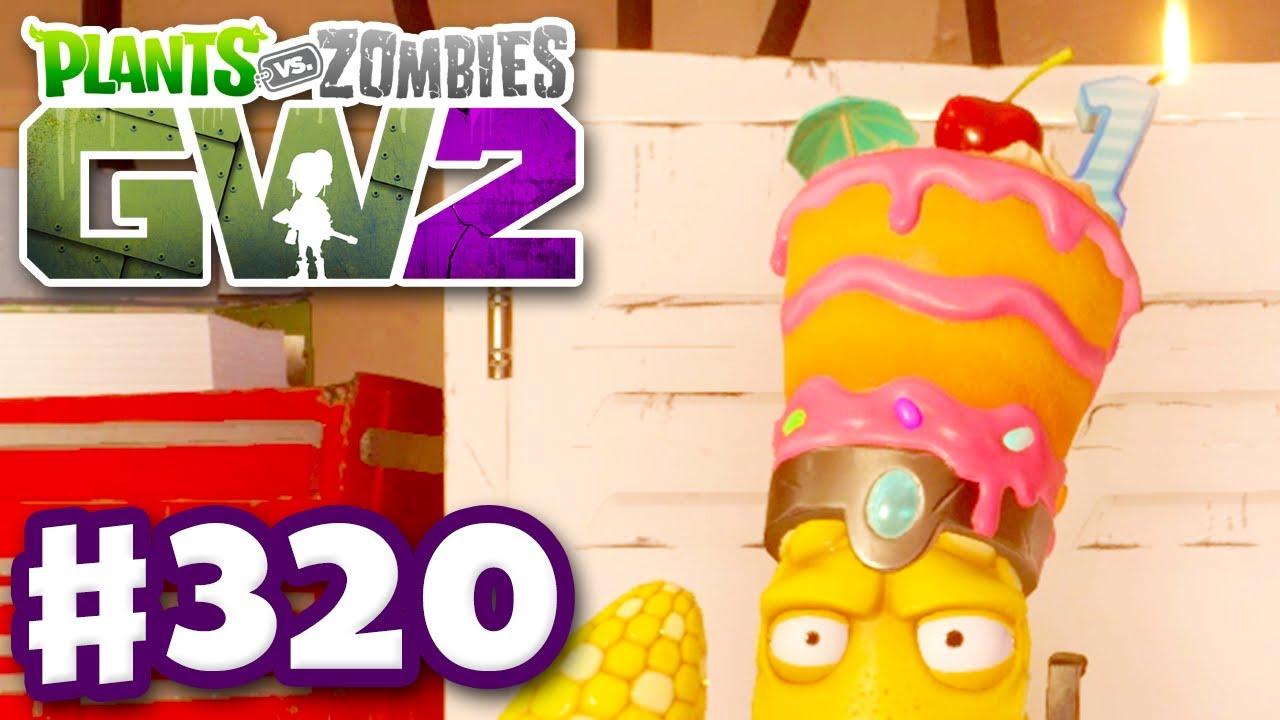 Birthday Cake Legendary Hat Plants Vs Zombies Garden Warfare 2