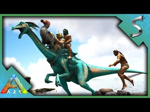 THE GREAT GALLIMIMUS RACE! TEAM SYN-TAG TAKES THE LEAD! - Ark: Survival Evolved [S4E79]