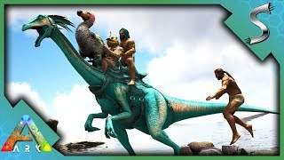 THE GREAT GALLIMIMUS RACE! TEAM SYN-TAG TAKES THE LEAD! - Ark: Surv...